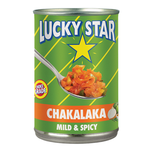 lucky star chakalaka mild & spicy
